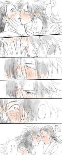 MadaHashi Kiss <3<3<3<3<3<3