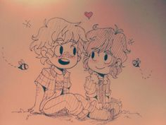 Solangelo Chibi by R