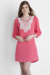 Lillian Crochet Dress