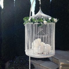 Our Crystal Classic dove release cage.