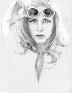 linesketch 2 by zhang weber, via Behance
