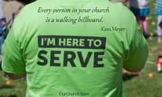 Every person in your church is like a walking billboard. @KemMeyer