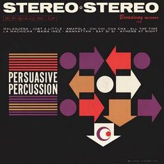 Record Cover for Persuasive Percussion (Broadway)  Project Thirty Three