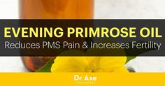 Evening primrose oil has a range of therapeutic properties, including reducing PMS pain, skin irritations and conditions, and act as an anti-inflammatory.