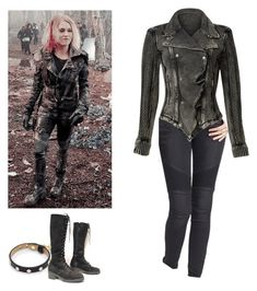 Clarke Griffin - The 100 by shadyannon on Polyvore featuring polyvore fashion style Free People Ted Baker clothing