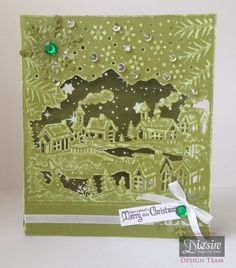 Create-A-Card Christmas Village by Melanie