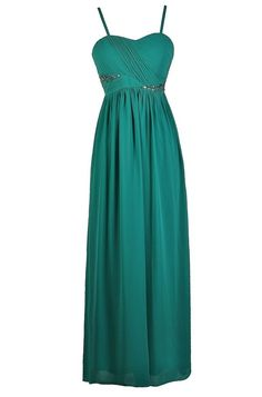 Dream Evening Rhinestone Embellished Maxi Dress in Jade Teal Homecoming Dresses, Prom Dresses Long Open Back, Prom Dresses Two Piece, Prom Dresses For Teens, Prom Dresses With Sleeves, Junior Dresses, Cute Dresses, Casual Dresses, Formal Dresses