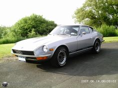 1973 in Silver. My first car was a silver 72 Nissan Z Cars, Japanese Sports Cars, Datsun 510, Dream Garage, Cars And Motorcycles, Vintage Cars, Cool Cars, Dream Cars, Super Cars