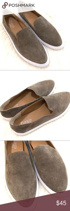 4ada2f48c998e FRANCO SARTO Mitchell taupe slip on loafer sneaker FRANCO SARTO Mitchell  taupe slip on loafer