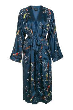 Topshop Bird Print Robe