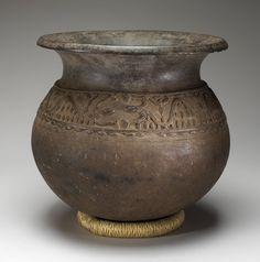 . Vessel    Artist Unknown (Bamileke) (Cameroon, Africa), 20th century  Ceramic