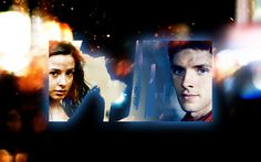 "BBC ""Merlin"" Wallpaper - Merlin and Freya"