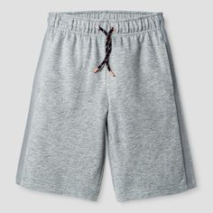 Boys' Pull-On Short Cat and Jack Heather Gray XS, Boy's, Heather Grey