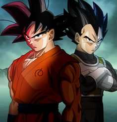 """"""" Goku & Vegeta in 'Fukkatsu no F' """""""