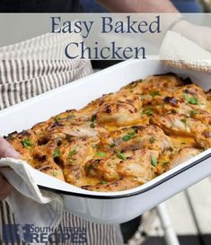 You cannot get an easier dish! The chicken is delicious with fries or couscous with roasted butternut squash and crumbled feta cheese. Easy Baked Chicken, Chicken Recipes, Marmite, Roasted Butternut Squash, Couscous, Quick Meals, Poultry, Feta, Dishes