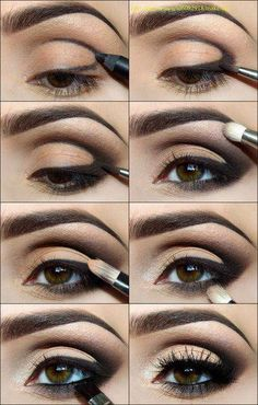 Smokey Eye Tutorial, hazel brown eyes, smoky eye, smokey eye, how to, smokey eye how to