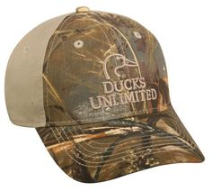Missouri Archery Ducks Unlimited DU50D Color  Max-5 Khaki Duck Hunting Hats 81bab036f66c