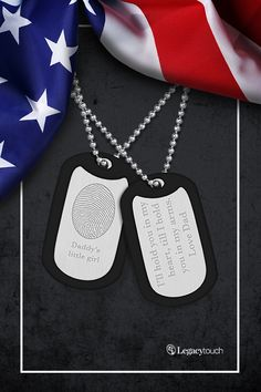 Customize yours with a unique fingerprint and meaningful message. All active and retired military members receive a 10% discount. Call (855) 802-6800 for more information