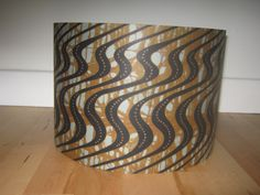 AFRICAN WAVE  DRUM Lampshade by WiLLAndaTeeR on Etsy, £45.00