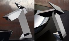 Ultra Modern Bathroom Faucet Inspired By Stealth Bomber - Stealth by GRAFF