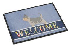 Australian Silky Terrier Welcome Indoor or Outdoor Mat 24x36 BB8307JMAT