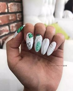 In seek out some nail designs and some ideas for your nails? Here's our listing of must-try coffin acrylic nails for fashionable women. Summer Acrylic Nails, Best Acrylic Nails, White Summer Nails, Short Nail Designs, Nail Art Designs, Bride Nails, Dream Nails, Halloween Nail Art, Nagel Gel