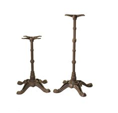 """Elegance,  strength and vintage style.  Meet #1400 our 4-leg ornate pub series of table bases. All cast iron construction and available in standard or bar height. The 24""""x24"""" leg spread will support traditional tables up to 36""""x36"""".  Perfect for #restaurant design for pubs, lounges and bars.  #tablebase #restaurantsupply #hospitalitydesign"""
