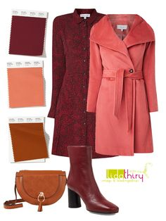 Colourful Outfits, Coral Outfits, Deep Autumn, Warm Spring, Color Shades, Fall Winter Outfits, Warm Colors, Capsule Wardrobe, Pink Color
