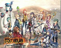 The gang is back for their final adventure! ~The original Class VII~ Trails Of Cold Steel 3