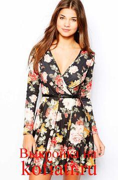 Выкройка платья с запахом - романтичное, женственное платье вы сможете сшить по вашим меркам! Выкройка платья с запахом моделируется очень просто. Бесплатно