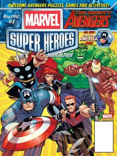 Marvels Super Heroes Magazine