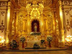 Altar Mayor, Capilla del Rosario. Santo Domingo, sede del Paso Blanco. Lorca
