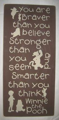 Love winnie the pooh:)