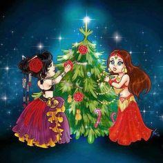 Christmas shimmies