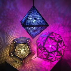 Dodecahedra and octahedron by Secular Geometry.
