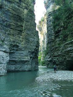 Canyon of Osum, Albania - Pixdaus