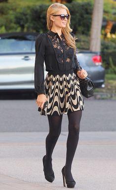 Paris Hilton tunnetaa myös tyylistään.
