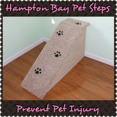 Prevent Pet Injury with Hampton Bay Pet Steps!