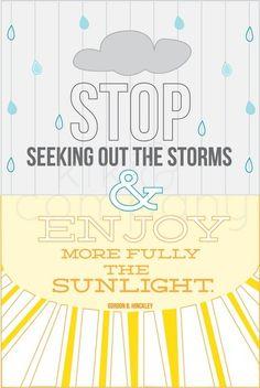 Enjoy the sun!