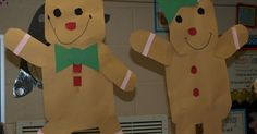 These are our Gingerbread glyphs. Aren't they cute? I love activities that incorporate reading, math AND fun! The kids cut all of their...
