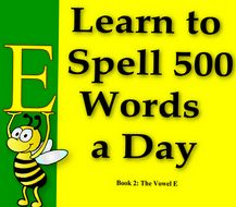Learn to Spell 500 Words a Day is a comprehensive book of phonics; it contains over 360 phonics lessons to teach advanced reading of phonics and the spelling of over 13,000 essential words. In it is the core and essence of the English language.