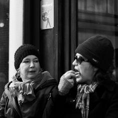 Jean-Philippe Jouve | Black and White | Street Photography | Paris | Lipstick