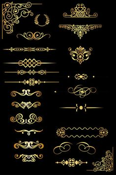Art Deco Borders, Motif Art Deco, Art Deco Design, Black And White Art Drawing, Art Deco Artwork, Luxury Logo, Logo Design, Graphic Design, Borders And Frames