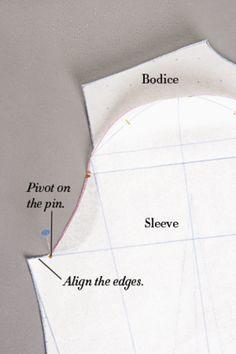 Create a Custom Sleeve Pattern - CraftStylish
