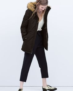 ZARA - COLLECTION SS15 - WATERPROOF COMBINED PARKA