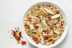Poulet et riz 30 minutes - Cuisinez avec Campbells Chicken Rice Recipes, Rice Recipes For Dinner, Chicken Soup, Campbells Soup Recipes, Main Meals, Food Dishes, Cooking Recipes, 20 Minutes, Chicken Breasts