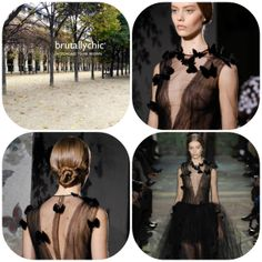 The #designers at @Valentino sought inspiration from the great #Italian #operas for the Spring #couture. Perhaps a better outcome for #MadamaButterfly had she been wearing this #brutallychic tulle dress? www.valentino.com #womensfashion #womenswear