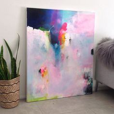 Painting Inspiration, Art Inspo, Watercolor Artists, Watercolor Paintings, Abstract Oil, Oeuvre D'art, Art Projects, Art Gallery, Wall Art