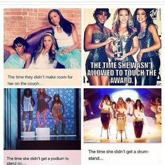 Destinys Child - Poor Michelle. These make me laugh so hard words can't even explain.