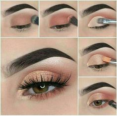 Schönes Augen Make-up Step by step how to achieve a soft glam makeup tutorial look Wedding Favors – Smoky Eye Makeup, Red Lip Makeup, Eye Makeup Steps, Makeup Eye Looks, Makeup Eyeshadow, Eyeshadow Palette, Blue Eyeshadow, Makeup Palette, Makeup Hacks Eyeshadow